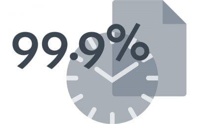Ce inseamna uptime de 99,9% si care sunt implicatiile acestuia ?