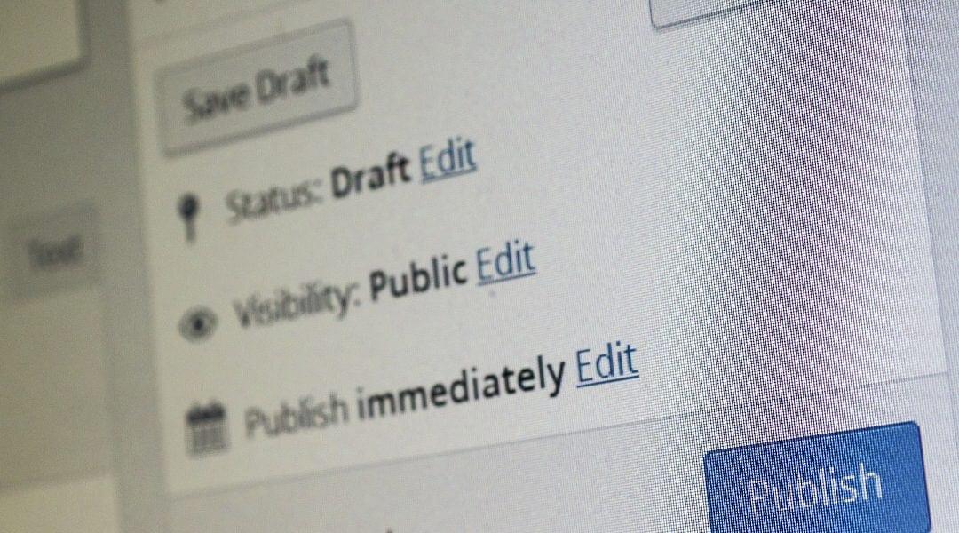 Cum programez publicarea unui articol in WordPress?