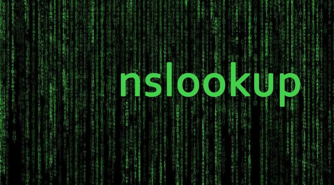 interogari DNS cu comanda nslookup