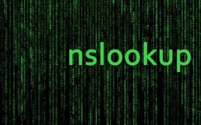 10 interogari DNS cu comanda NSLOOKUP