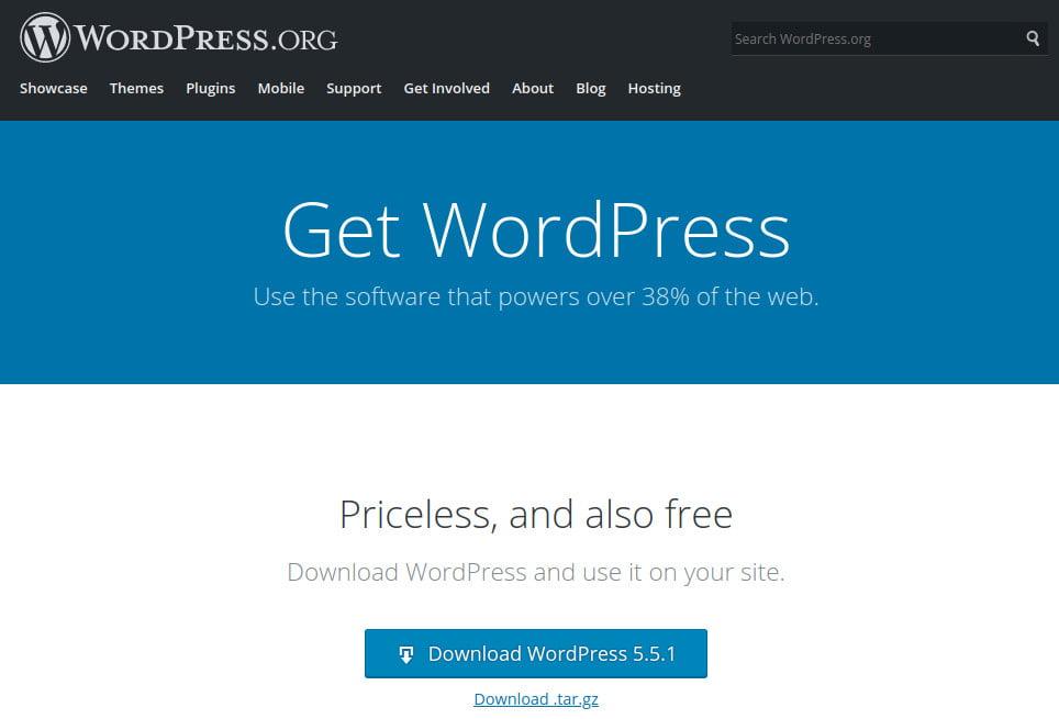 descarca WordPress